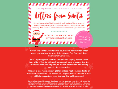 Letters From Santa Flyer
