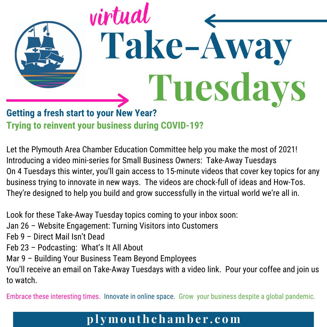 Virtual Takeaway Tuesdays